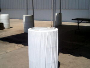tent water barrel with cover rental