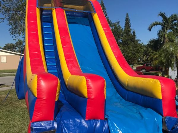 water slide rentals miami without pool