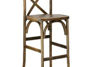 crossback barstool chair rentals in miami