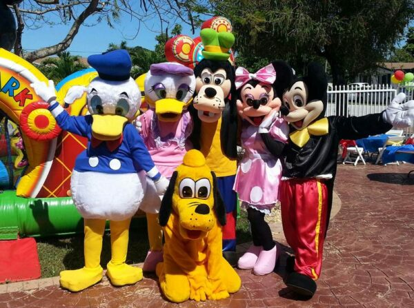 party character rentals mickey characters