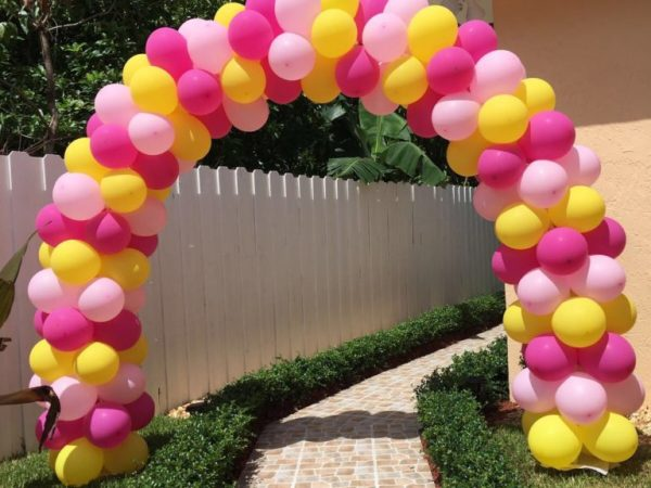 party balloon arch rental