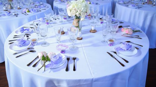 wedding table rentals