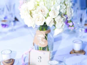 wedding flower center piece rental miami