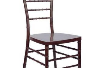 mahogany chair rentals in maimi