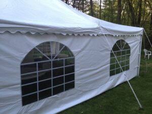 tent windowed side walls