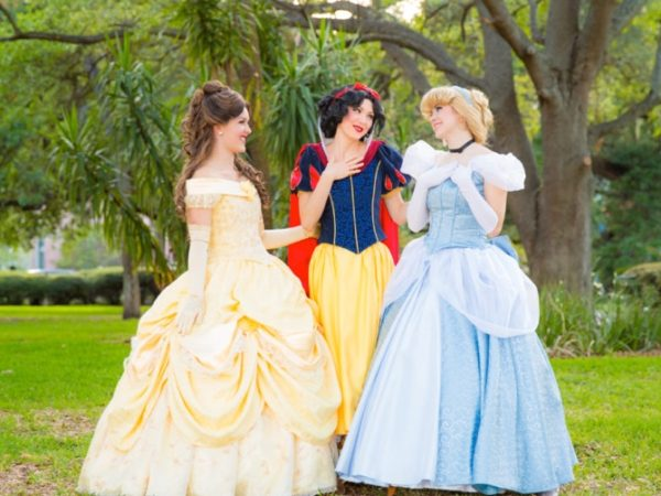 princess character for kids party
