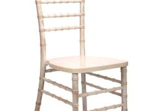 wood white chiavari chair rentals miami