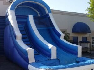 big blue water slide rentals with pool