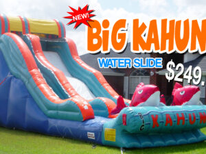 big kahuna water slide rentals
