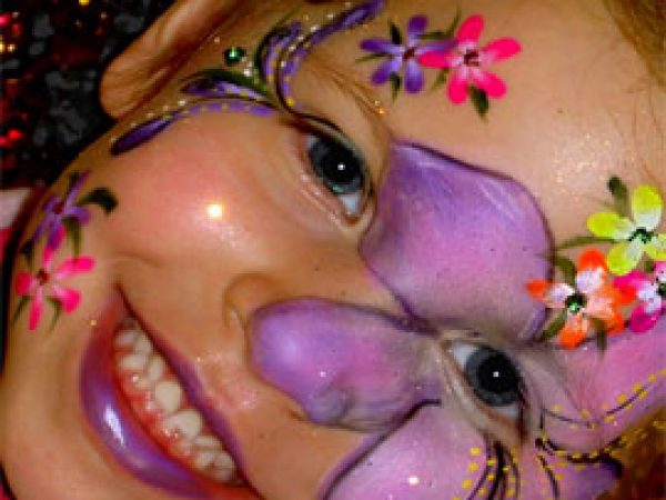facepainting for kids in miami