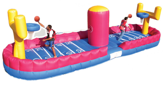 football run inflatable bounce house rentals in miami