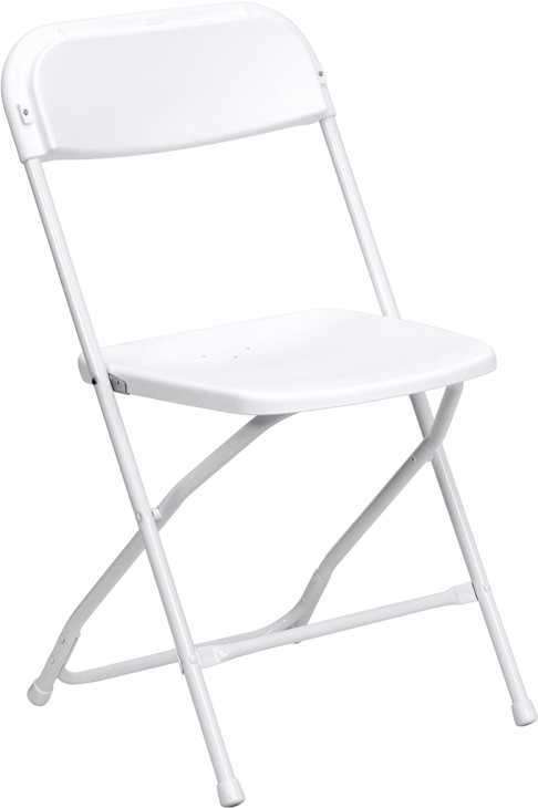 white plastic folding chair rentals in miami