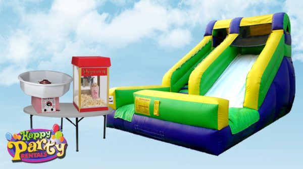 water slide kids party package rentals