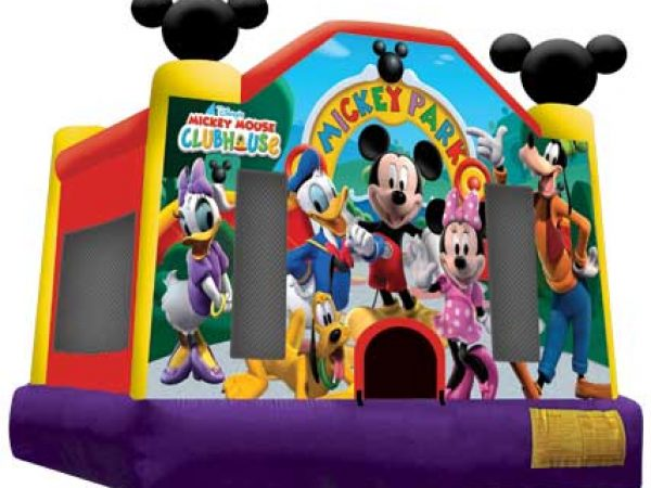 mickey full face bounce house rentals