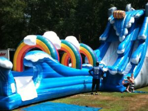 niagra falls giant adult water slide rental in miami