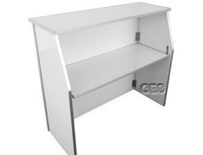 white portable bar rentals