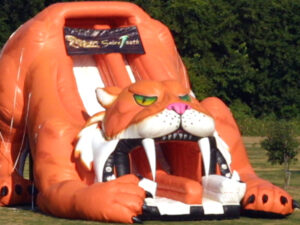 sabertooth giant inflatable rental in miami