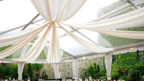 liners for tent rentals