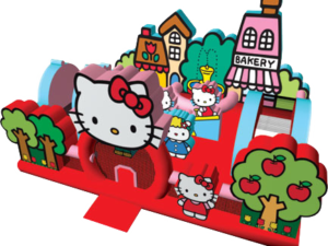 hello kitty themed toddler bounce house rentals