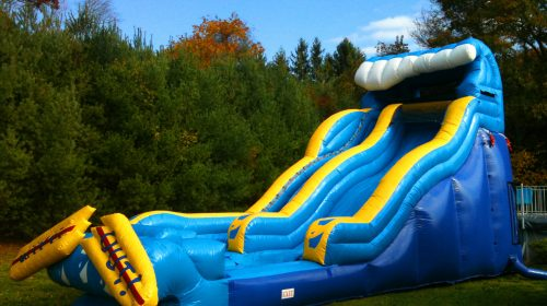 wipe out large water slide rentals