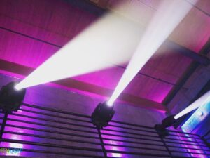 club lights spotlight rentals
