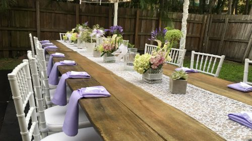 white chiavari chair rentals