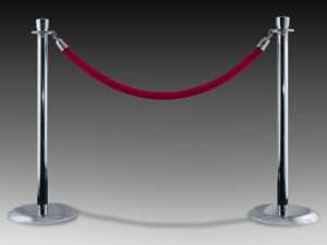 stanchions pole rental for events in miami