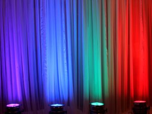 event color changing uplight rentals