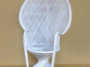 white wicker chair rentals in miami