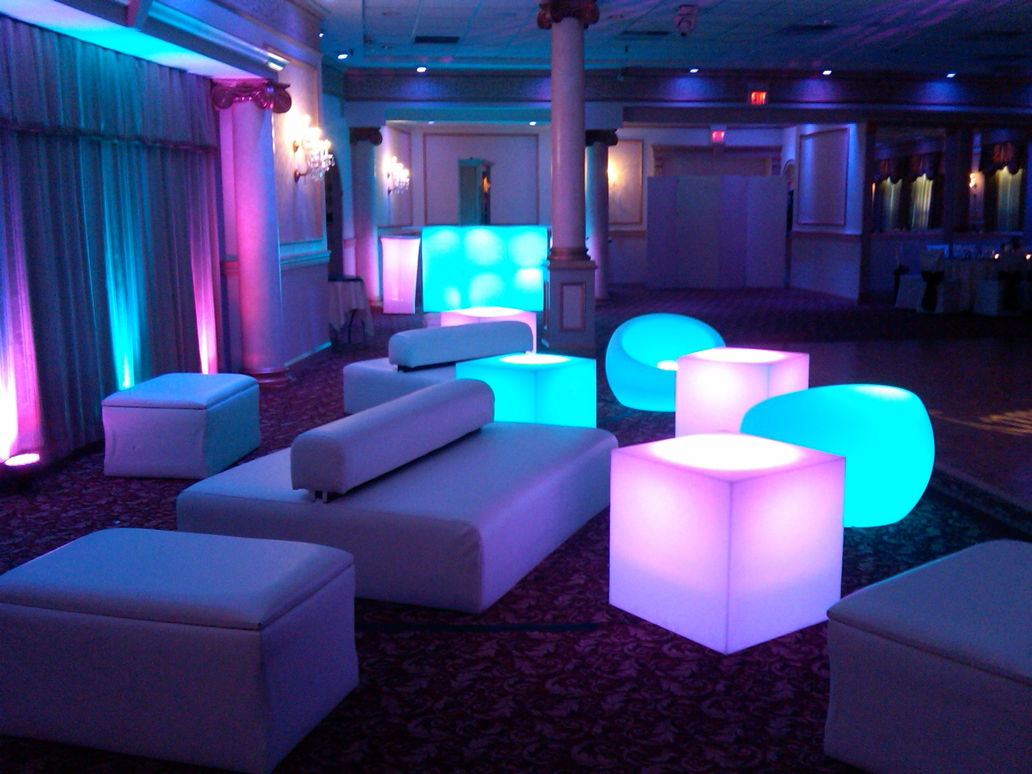 White Furniture Package 4 Happy Party Event Rentals