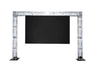 led stage with truss bar
