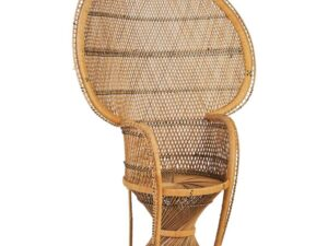 brown wicker chair rental
