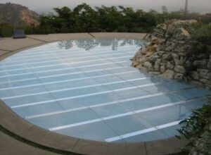 flush acrylic pool cover dance floor rental miami