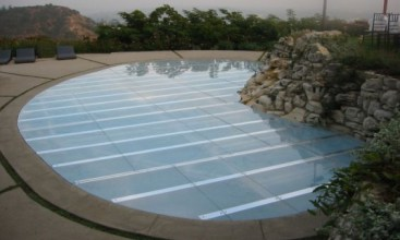 Acrylic Pool Cover Dance Floor Hy