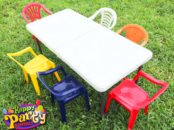kids party chair rentals in miami