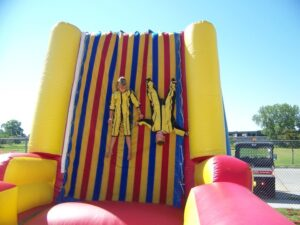 human velcro wall carnival game rentals in miami