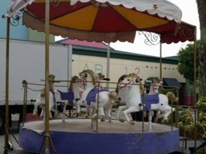 mini horse carousel rentals in miami